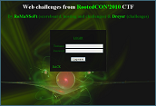 Web challenges CTF